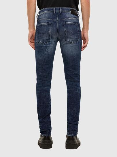 Diesel - Sleenker 009JM, Dark Blue - Jeans - Image 2