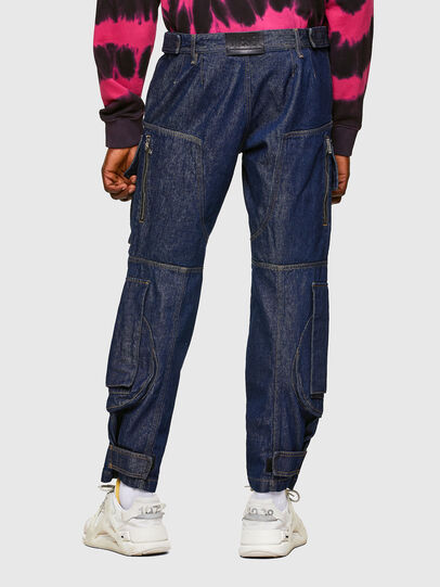 Diesel - D-KARGO, Medium blue - Pants - Image 2