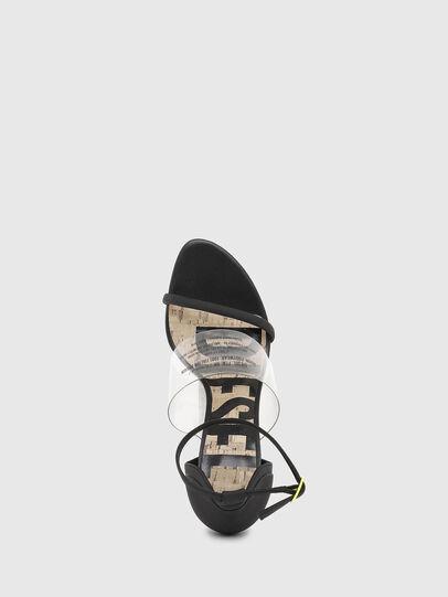 Diesel - SA-SLANTY HAR, Black - Sandals - Image 4