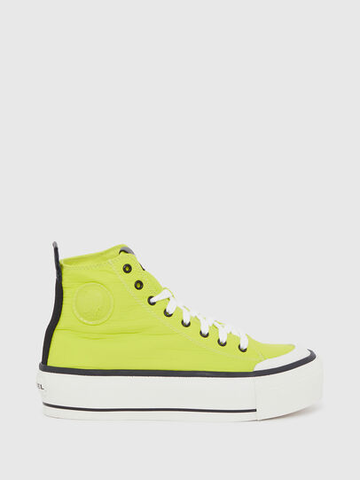 Diesel - S-ASTICO MC WEDGE, Yellow - Sneakers - Image 1