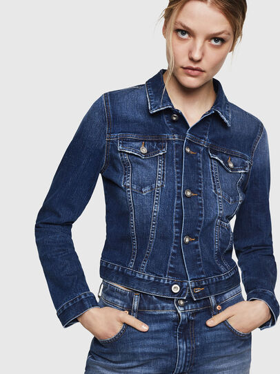 Diesel - DE-LIMMY, Dark Blue - Denim Jackets - Image 5