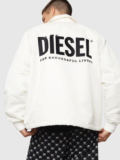Diesel - J-AKIO-A, White - Jackets - Image 2
