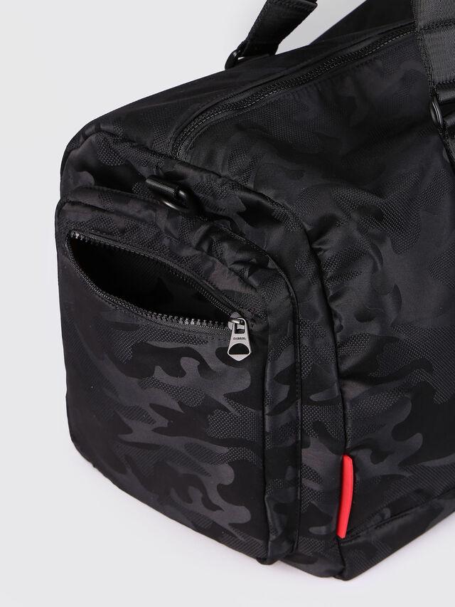 Diesel - F-DISCOVER DUFFLE, Black - Travel Bags - Image 4