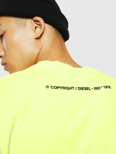 Diesel - T-JUST-SLITS-FLUO,  - T-Shirts - Image 4
