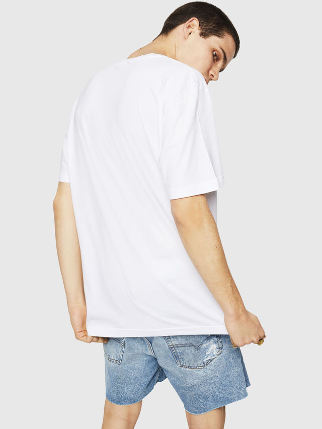 Diesel - T-JUST-Y21, White - T-Shirts - Image 2