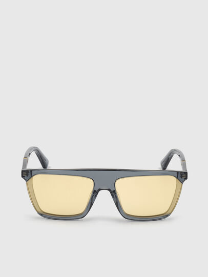 Diesel - DL0323, Black/Yellow - Sunglasses - Image 1