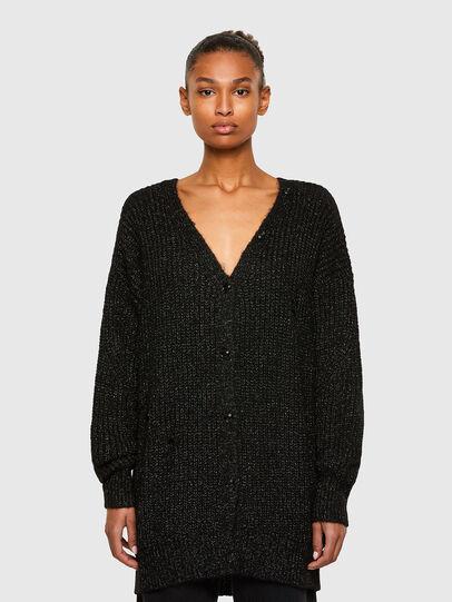 Diesel - M-CORAL, Black - Knitwear - Image 1
