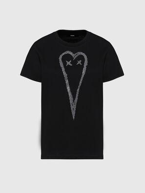 T-SILY-E53, Black - T-Shirts