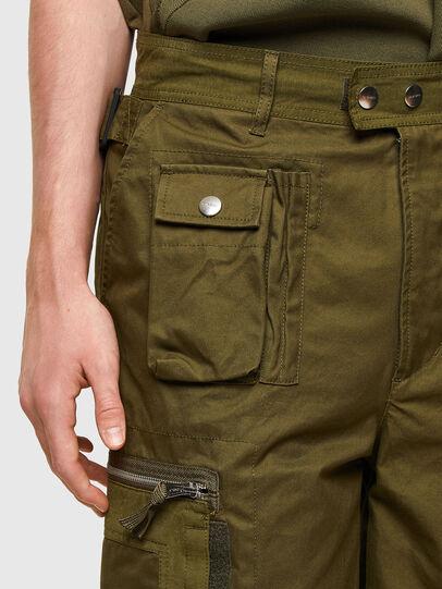 Diesel - P-CYAN-SHORT, Military Green - Shorts - Image 4