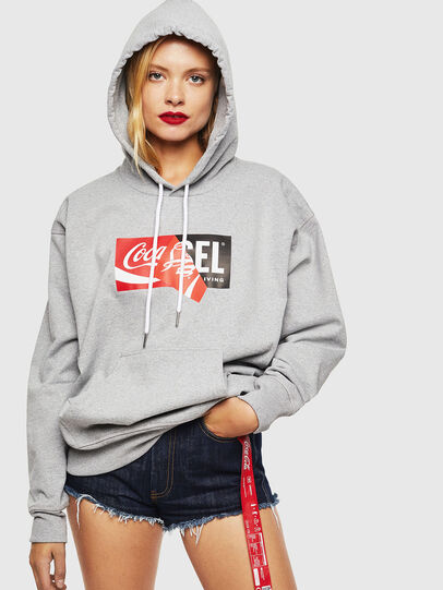 Diesel - CC-S-ALBY-COLA, Grey - Sweaters - Image 2