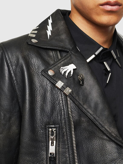 Diesel - L-GOTIV-A,  - Leather jackets - Image 5
