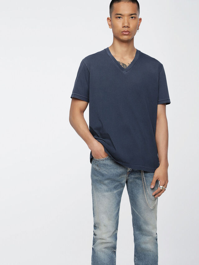 Diesel T-KEITHS, Blue - T-Shirts - Image 1