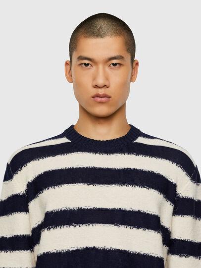 Diesel - K-BRODIE, White/Blue - Knitwear - Image 3
