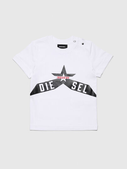 Diesel - TDIEGOA7B, White - T-shirts and Tops - Image 1