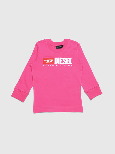 Diesel - TJUSTDIVISIONB ML-R, Pink - T-shirts and Tops - Image 1