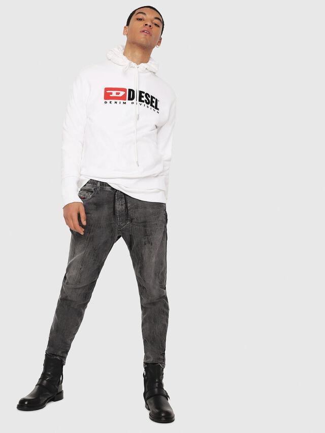 Diesel - Narrot JoggJeans 8880U, Black/Dark grey - Jeans - Image 5