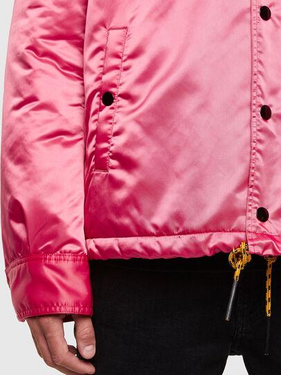 Diesel - J-FOOT, Pink - Jackets - Image 4