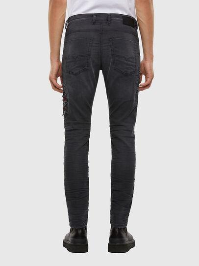 Diesel - Krooley JoggJeans 069RA, Black/Dark grey - Jeans - Image 2