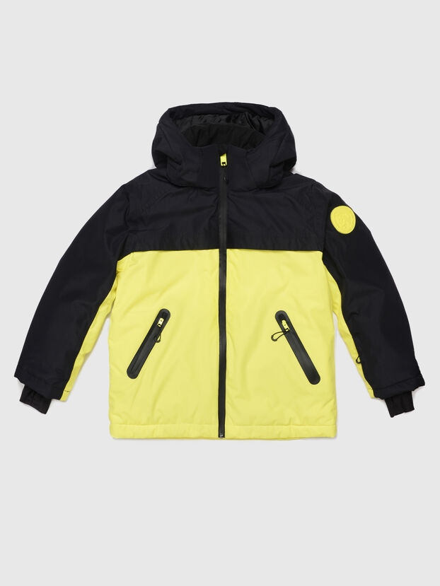 JPOLAR-SKI, Black/Yellow - Ski wear