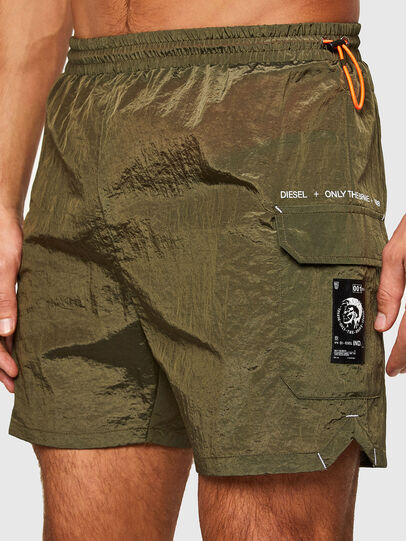 Diesel - BMBX-SURFY, Military Green - Swim shorts - Image 3