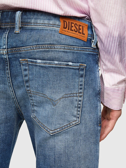 Diesel - Sleenker 009PN, Medium blue - Jeans - Image 4