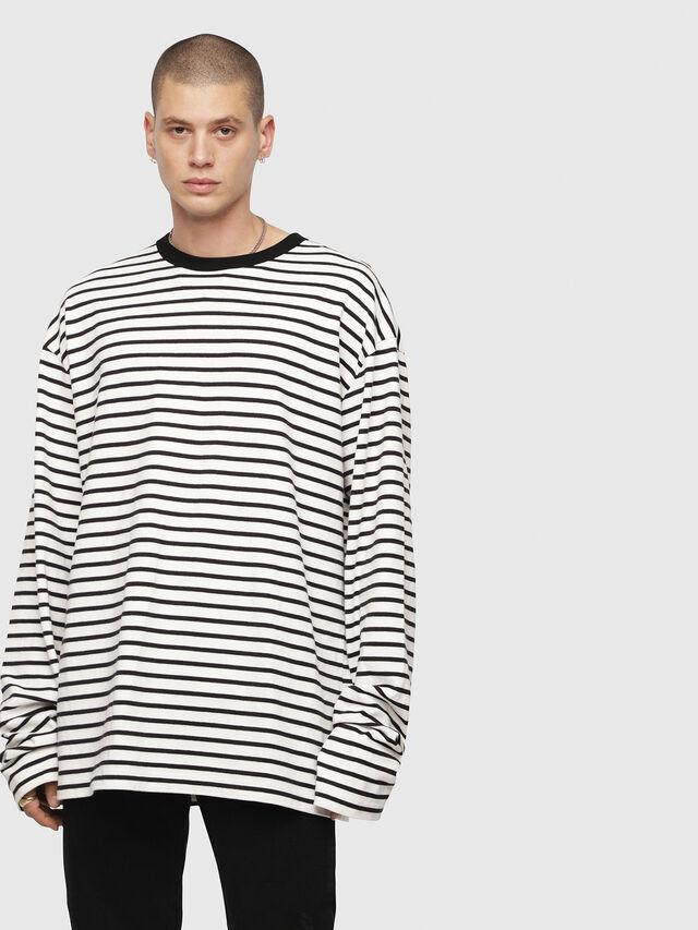 Diesel - T-DAICHI, White/Black - T-Shirts - Image 1