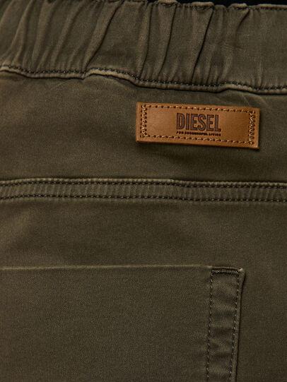 Diesel - Krooley JoggJeans 0670M, Dark Green - Jeans - Image 4