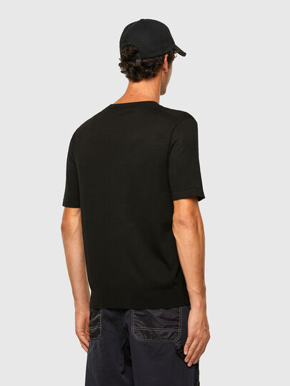 Diesel - K-CROFT-SS, Black - Knitwear - Image 5