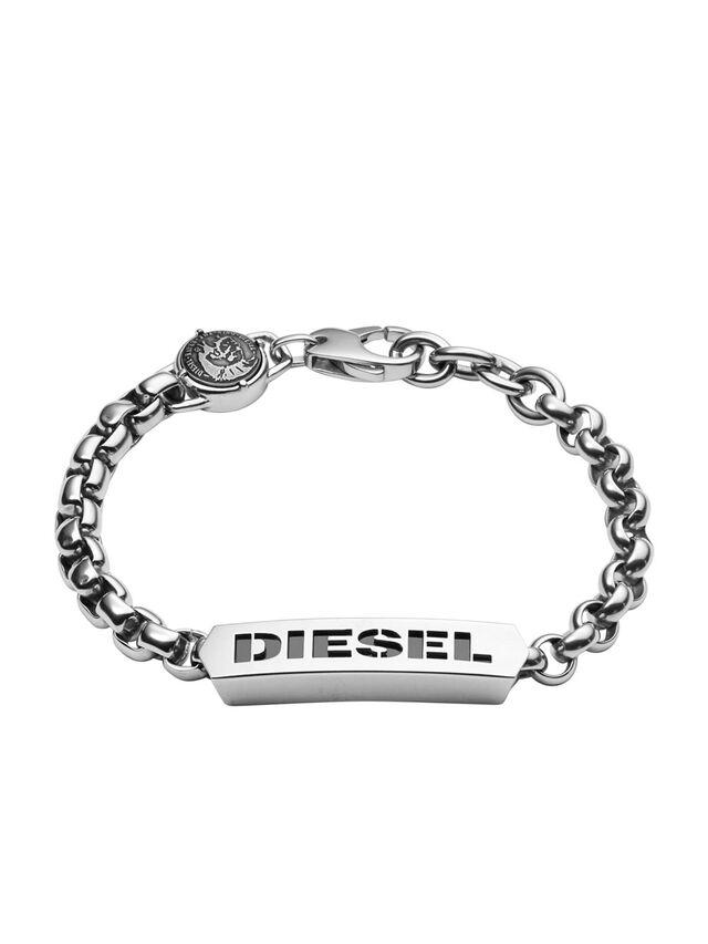 Diesel - BRACELET DX0993, Silver - Bracelets - Image 1