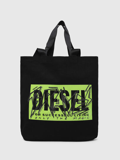 Diesel - LYVENZA, Black/Green - Shopping and Shoulder Bags - Image 1