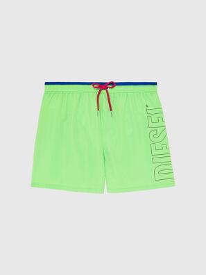 BMBX-WAVE 2.017, Green Fluo - Swim shorts