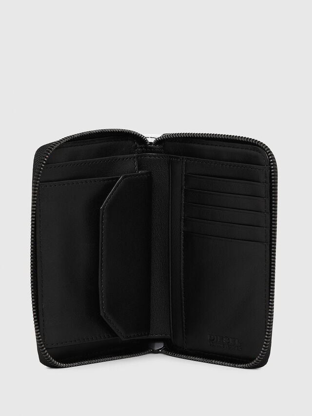 Diesel - JADDAA, White/Black - Small Wallets - Image 3