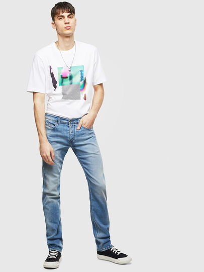 Diesel - Safado 069MN, Light Blue - Jeans - Image 5