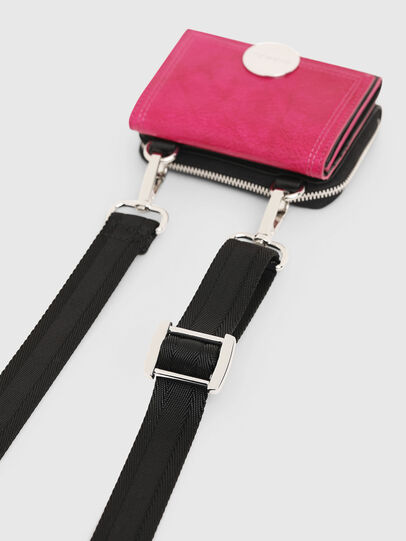 Diesel - LORY, Pink/Black - Small Wallets - Image 7
