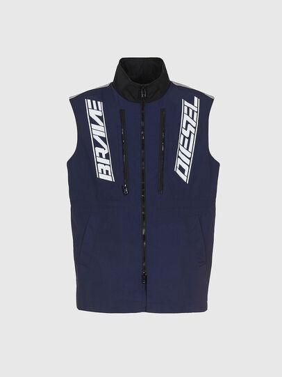 Diesel - W-KOON, Blue/Grey - Winter Jackets - Image 5