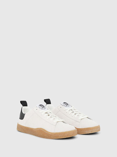 Diesel - S-CLEVER PAR LOW, White/Black - Sneakers - Image 2
