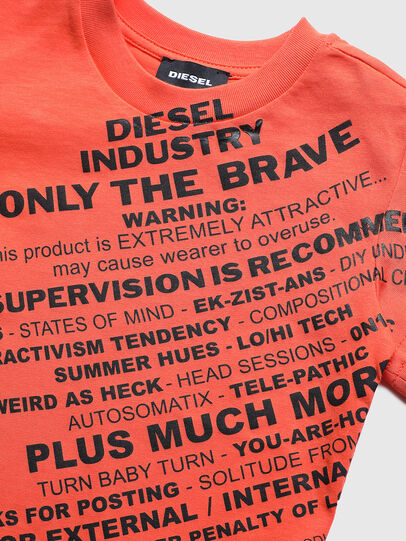 Diesel - TDIEGOS3B-R, Orange - T-shirts and Tops - Image 3