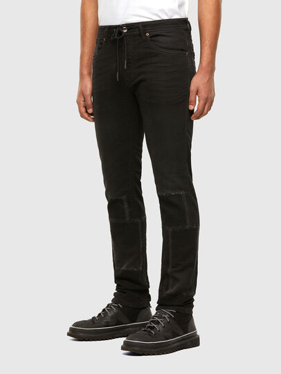 Diesel - Thommer JoggJeans 009IC, Black/Dark grey - Jeans - Image 6