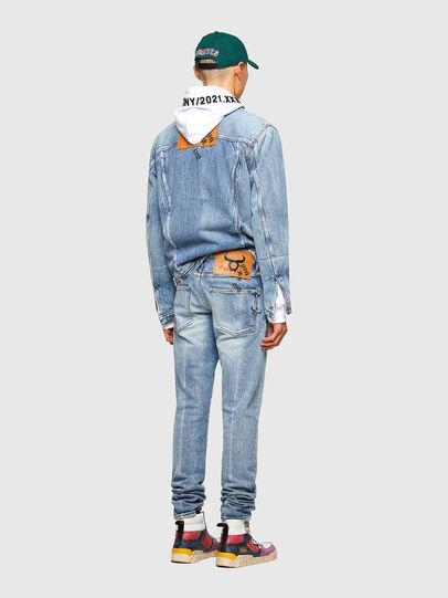 Diesel - D-Kras 009VW, Light Blue - Jeans - Image 7