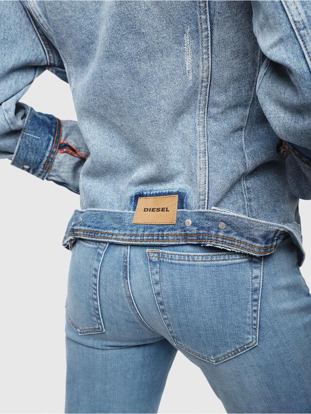 Diesel - DE-NALINI, Blue Jeans - Denim Jackets - Image 5