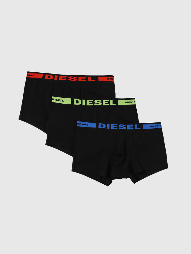 Diesel - UMBX-KORYTHREEPACK, Black - Trunks - Image 1