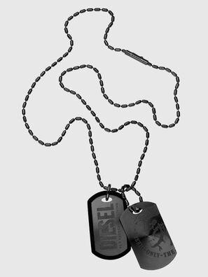 DX0014, Black - Necklaces