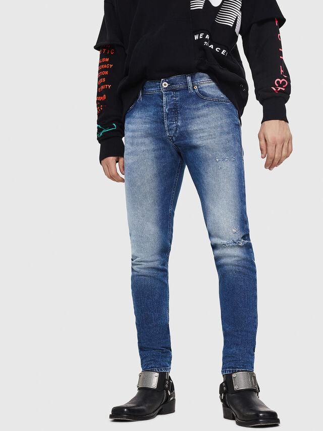 Diesel - Tepphar 081AQ, Medium blue - Jeans - Image 1