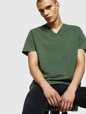 T-THEA, Dark Green - T-Shirts