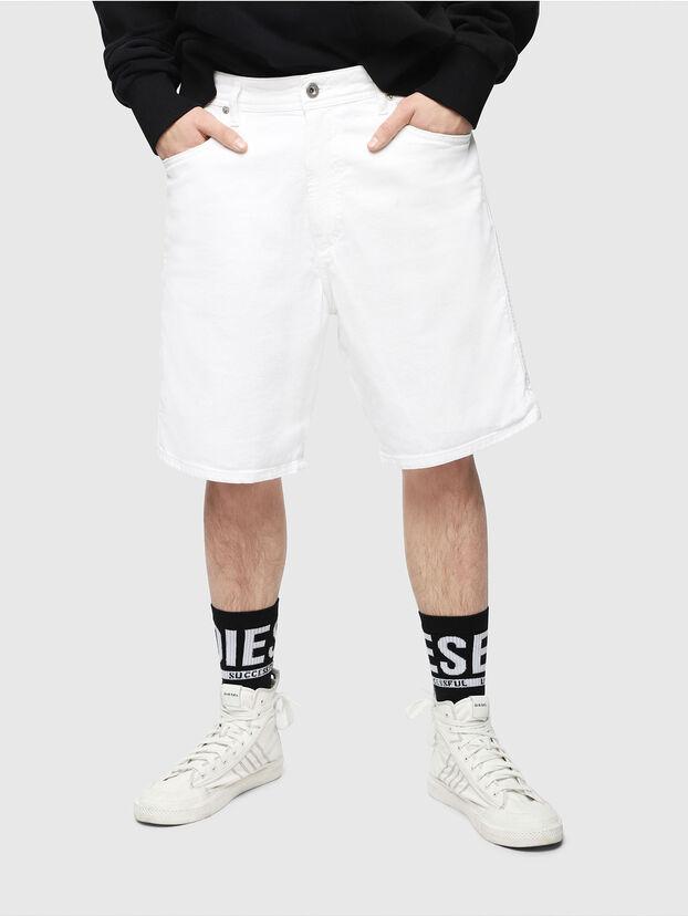 D-WILLOH, White - Shorts