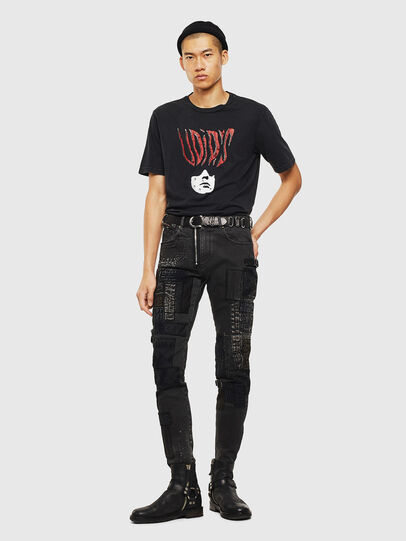 Diesel - T-JUST-J3, Black - T-Shirts - Image 9
