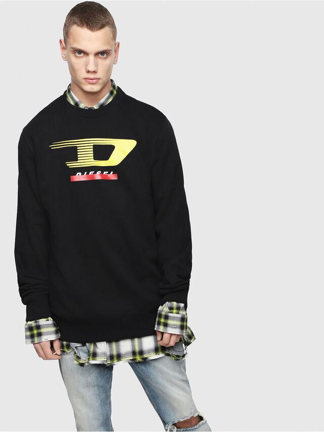 Diesel - S-GIR-Y4, Black - Sweaters - Image 1