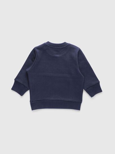 Diesel - SCREWDIVISIONB, Navy Blue - Sweaters - Image 2