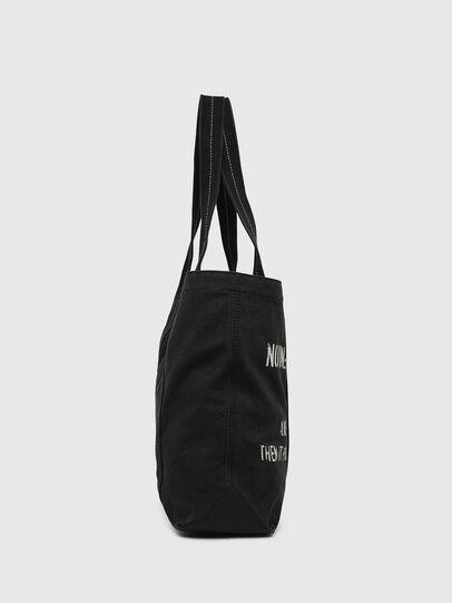 Diesel - D-THISBAG SHOP M, Black - Shopping and Shoulder Bags - Image 3