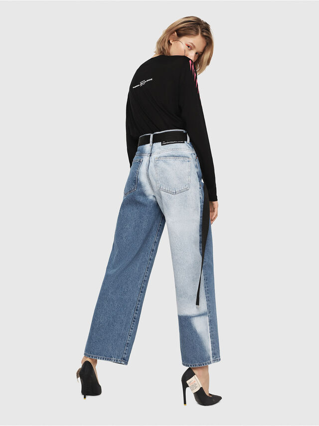 Diesel - Widee 0077V, Medium blue - Jeans - Image 6